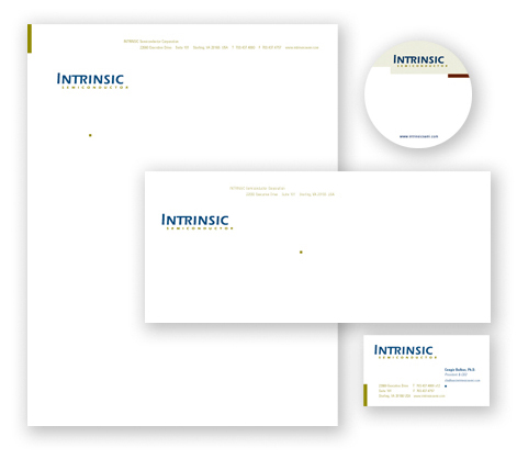 INTRINSIC Semiconductor stationery suite