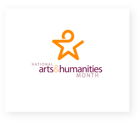 AFTA National Arts & Humanities Month logo